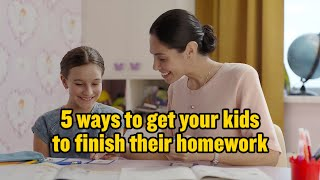 EUROPESE OMROEP | OPENN  | 5 ways to help your child with their homework | UNICEF