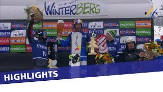 EUROPESE OMROEP | FIS Snowboarding | Roland Fischnaller claims win in Winterberg to get his hands on PSL crystal globe | Highlights | 1521288331 2018-03-17T12:05:31+00:00