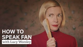 EUROPESE OMROEP | OPENN  | How To Speak Fan | with Lucy Worsley