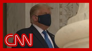 EUROPESE OMROEP OPENN Trump booed as he pays respects t