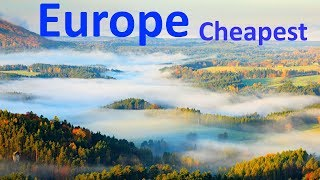EUROPESE OMROEP OPENN Top 10 Cheapest Countries to Live