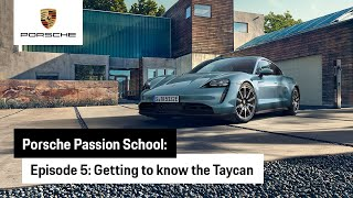 EUROPESE OMROEP   OPENN    Porsche Passion School  – Episode 5: Getting to Know the Taycan