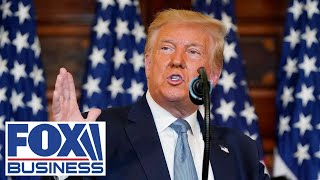 EUROPESE OMROEP OPENN Trump delivers remarks on his 'He