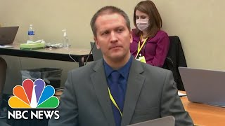 EUROPESE OMROEP   OPENN    Replay: Derek Chauvin Found Guilty On All Charges In Murder Of George Floyd   NBC News