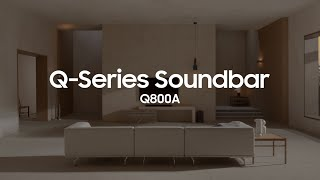 EUROPESE OMROEP | OPENN  | Soundbar - Q800A: Official Introduction | Samsung