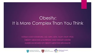 EUROPESE OMROEP | Harvard University | Obesity: It's More Complex than You Think | Fatima Cody Stanford || Radcliffe Institute | 1523303641 2018-04-09T19:54:01+00:00
