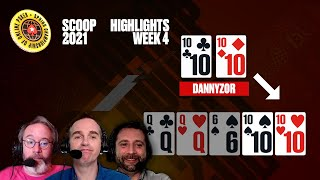 EUROPESE OMROEP | OPENN  | BRUTAL death by QUADS ♠️  SCOOP 2021 ♠️  PokerStars