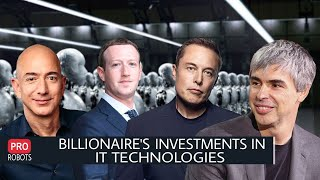 EUROPESE OMROEP | OPENN  | What technologies do IT billionaires invest in? | Investing in Technology