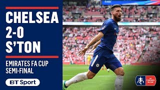 EUROPESE OMROEP | BT Sport | Chelsea 2-0 Southampton: FA Cup semi-final highlights | 1524417071 2018-04-22T17:11:11+00:00