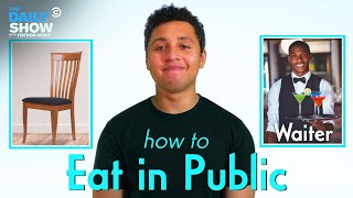 EUROPESE OMROEP | OPENN  | Eating in Public After Quarantine: Dos and Don'ts | The Daily Show