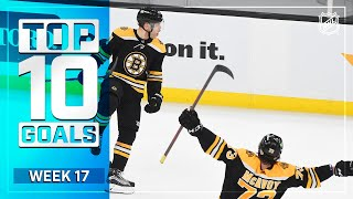 EUROPESE OMROEP | OPENN  | Top 10 Goals from Week 17 | 2021 NHL Season
