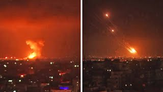 EUROPESE OMROEP | OPENN  | Palestinian rocket fire, Israeli airstrikes on Gaza run into second day