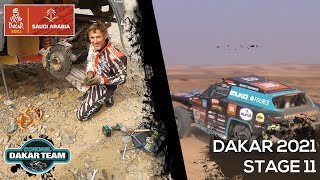 EUROPESE OMROEP | OPENN  | How to GUIDE a driver during the Dakar Rally 2021? Jump onboard with Coronel - Stage 11