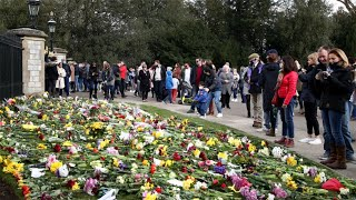 EUROPESE OMROEP OPENN Mourners pay respect to Prince Ph