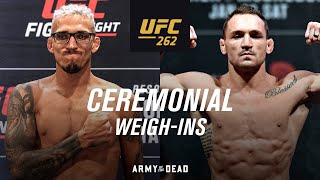 EUROPESE OMROEP | OPENN  | UFC 262: Ceremonial Weigh-in