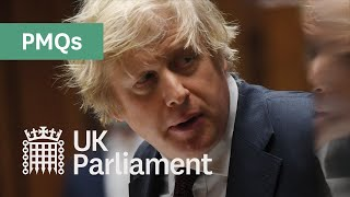 EUROPESE OMROEP OPENN Prime Minister's Questions (PMQs) - 24