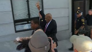 EUROPESE OMROEP | AFP news agency | Bill Cosby leaves court after being found guilty | 1524769139 2018-04-26T18:58:59+00:00