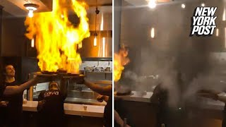 EUROPESE OMROEP | New York Post | Flaming cheese dishes set off the sprinklers at restaurant | New York Post | 1524571500 2018-04-24T12:05:00+00:00