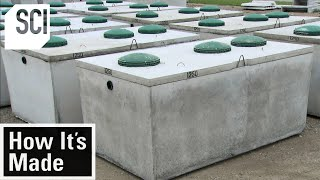 EUROPESE OMROEP | OPENN  | How It's Made: Septic Tanks