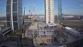 EUROPESE OMROEP OPENN Time-lapse video of the construct