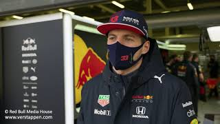 EUROPESE OMROEP | OPENN  | Max Verstappen talks about the RB16B, the filming day and the 2021 Formula 1 season