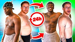 EUROPESE OMROEP | OPENN  | SIDEMEN MOST WEIGHT LOST IN 24 HOURS CHALLENGE