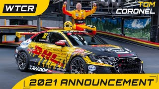 EUROPESE OMROEP | OPENN  | Tom Coronel to race Audi RS 3 LMS in camouflage livery in FIA WTCR