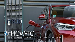 EUROPESE OMROEP | OPENN  | High Power Charging for your fully electric BMW – BMW How-To