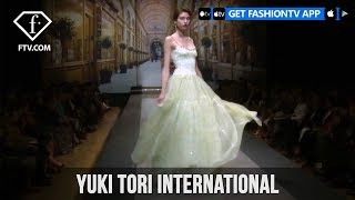 EUROPESE OMROEP | FTV | Tokyo Fashion Week Spring/Summer 2018 - Yuki Tori International | FashionTV | 1512154801 2017-12-01T19:00:01+00:00
