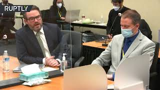 EUROPESE OMROEP OPENN Derek Chauvin's trial with closing a