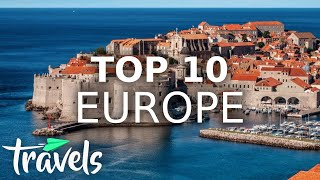 EUROPESE OMROEP OPENN Top 10 Countries in Europe to Vis