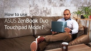 EUROPESE OMROEP | OPENN  | How to use ZenBook Duo TouchPad Mode | ASUS