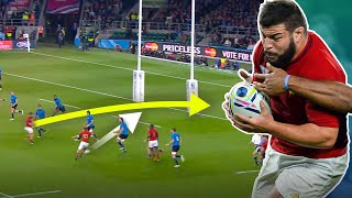 EUROPESE OMROEP | OPENN  | Sebastien Chabal Can't Be Stopped | The Best France World Cup Tries