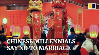 EUROPESE OMROEP | OPENN  | Number of marriages drops in China as more young people say no