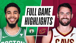 EUROPESE OMROEP | OPENN  | CELTICS at CAVALIERS | FULL GAME HIGHLIGHTS | May 12, 2021