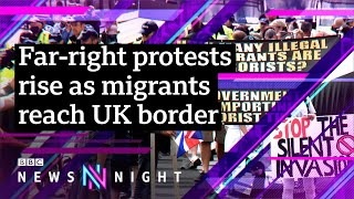 EUROPESE OMROEP | OPENN  | UK Border tensions: Anti-immigration protests on the rise – BBC Newsnight