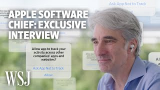 EUROPESE OMROEP | OPENN  | Apple's Craig Federighi Explains iOS 14.5's Privacy Features | WSJ