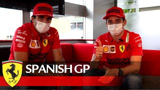 EUROPESE OMROEP | OPENN  | Carlos and Charles' message for the Tifosi after the Spanish GP