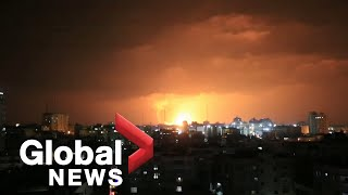 EUROPESE OMROEP | OPENN  | Explosions light up the skies over Gaza amid cross border violence, clashes in the West Bank