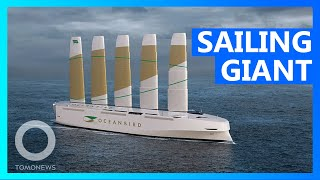 EUROPESE OMROEP OPENN Giant Sail Ship Will Carry up to