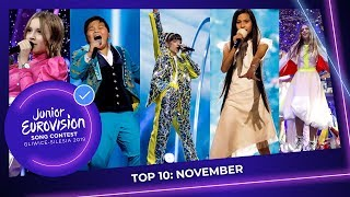 EUROPESE OMROEP OPENN TOP 10: Most watched in November