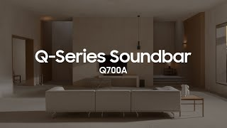 EUROPESE OMROEP | OPENN  | Soundbar - Q700A: Official Introduction | Samsung