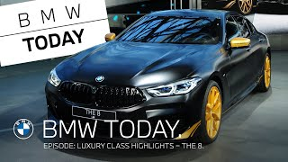 EUROPESE OMROEP | OPENN  | BMW Today – Episode 33: Luxury class highlights – THE 8 Golden Thunder Edition.