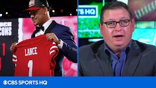 EUROPESE OMROEP | OPENN  | NFL Insider: There is a 15% Chance Trey Lance Starts Week 1 for the 49ers | CBS Sports HQ
