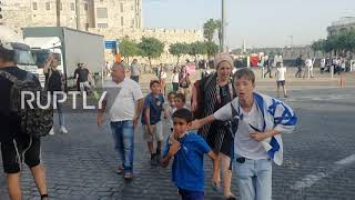 EUROPESE OMROEP | OPENN  | Israel: Locals flee after rocket siren activated in Jerusalem