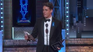 EUROPESE OMROEP | The Tony Awards | Acceptance Speech: Steven Levenson (2017) | 1497231196 2017-06-12T01:33:16+00:00
