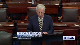 EUROPESE OMROEP OPENN Senator Mitch McConnell on Justic
