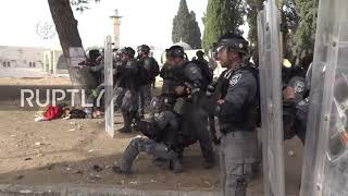 EUROPESE OMROEP | OPENN  | East Jerusalem: Police and protesters clash after Temple Mount closed on Jerusalem Day