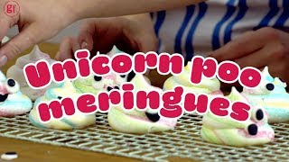 EUROPESE OMROEP | BBC Good Food | How to make rainbow unicorn poop meringues! 🦄 🌈- BBC Good Food Kids | 1519398680 2018-02-23T15:11:20+00:00