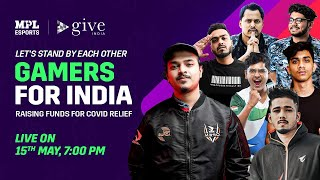 EUROPESE OMROEP | OPENN  | Gamers For India Fundraiser For Covid19 Relief With MPL Esports